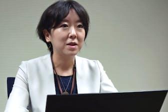 NECの川辺理恵さん