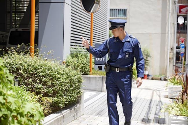 ALSOKは売店や清掃のスタッフと連携した警備体制を提案する