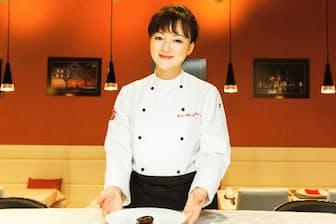 オーナーシェフの小薇(シャウ・ウェイ)さん 本場の中国料理を一番おいしい状態で提供することをモットーとしている