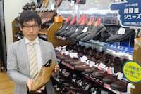 杉田さんの店長着任後、はるやま五反田店は売り上げが右肩上がり