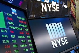 2008年のリーマン・ショックから10年が経過する。写真はニューヨーク証券取引所(18年5月)=AP