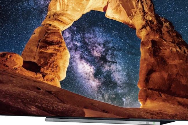 東芝映像ソリューションの新モデルは新4K放送を受信できるチューナーを内蔵している