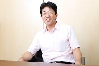 卓球の新リーグ「Tリーグ」のチェアマンである松下浩二さん