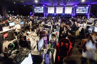 2018年5月に開催された「C4LAN 2018 SPRING」。パソコンを持ち寄って夜通し友人たちと遊ぶというイベントだ(写真提供:C4LAN、以下同)