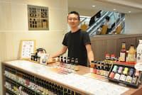 しょうゆ専門店「職人醤油」代表の高橋万太郎さん