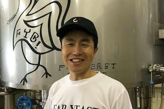 ファーイーストブルーイングの創業者、山田司朗さんはITビジネスを離れてビール造りに転じた
