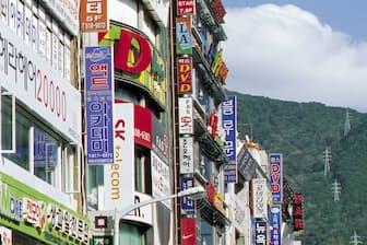 韓国・プサンの街=PIXTA