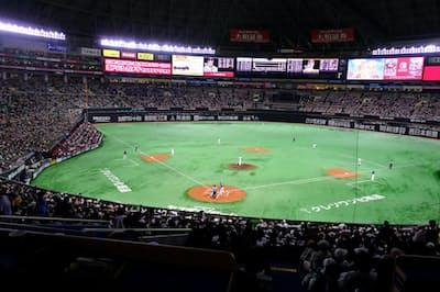 IoTの技術が日本のプロ野球を変えようとしている(福岡市のヤフオクドーム)