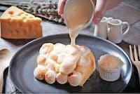 「Cheese Cheers Cafe」渋谷店の「とろ~りチーズのマシュマロシフォン」はSNS映え必至