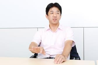 卓球の新リーグ「Tリーグ」の松下浩二チェアマン