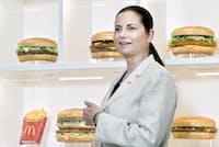 日本マクドナルドホールディングスのサラ・カサノバ社長兼CEO