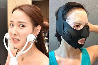 EMS(筋電気刺激)の力で顔のたるみを撃退する家電を紹介します