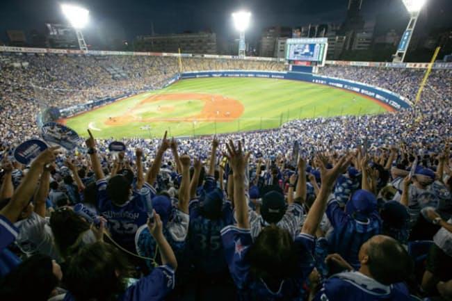 閑古鳥からほぼ満席へ 横浜スタジアム7年間の大改革|MONO TRENDY ...