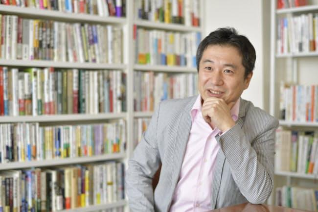 「広く会計に興味を持ってもらいたかった」という田中靖浩氏=Photo/Tadashi Okochi