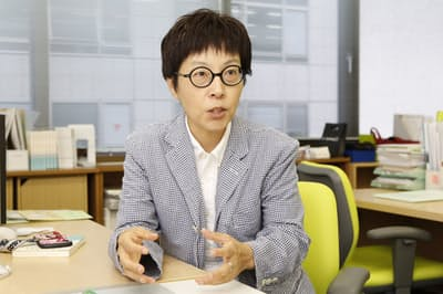 がんになっても働きやすい社会づくりのために活動する桜井なおみさん