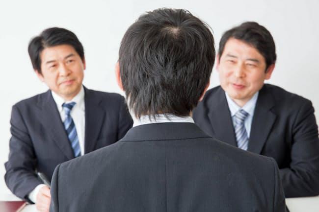 応募者の心の中を面接官は簡単に見抜く。画像はイメージ=PIXTA