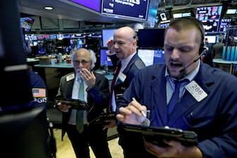米国発の株安が再び世界の金融市場を揺さぶった(10月10日、米ニューヨーク証券取引所)=ロイター