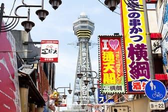 大阪を訪れる海外旅行者の増加率は世界一。画像はイメージ=PIXTA