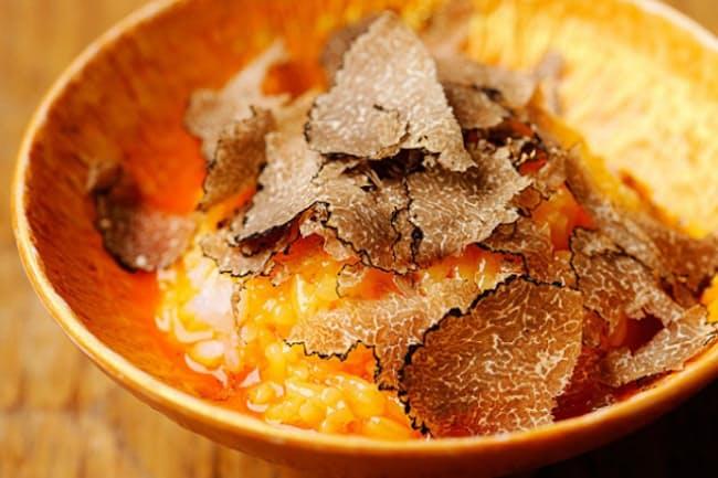「十番右京 恵比寿店」の「トリュフたまごかけご飯」
