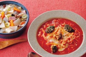 体もあたたまるスープでおいしくダイエット!(nikkei WOMAN Onlineより)=写真/三村健治