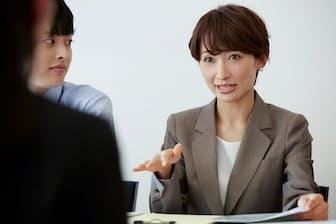 面接官は相手の対応を見るためにあえて困る質問をぶつけることも。写真はイメージ=PIXTA