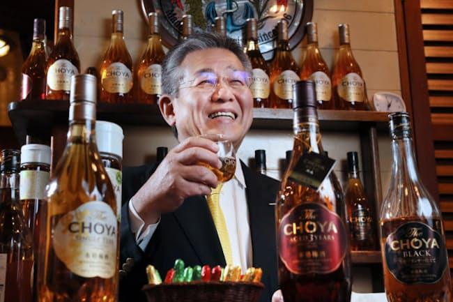 チョーヤ梅酒の金銅重弘社長