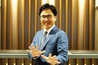 元お笑い芸人で人材研修コンサルタントの中北朋宏氏