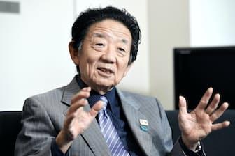 公立大学法人首都大学東京の島田晴雄理事長