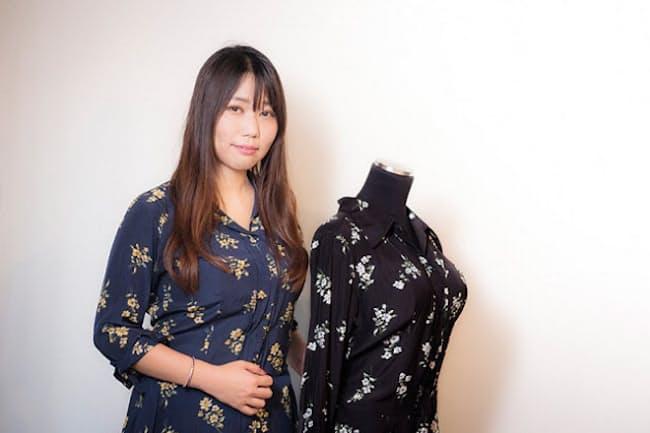 胸のサイズで服を選ぶアパレルブランド「HEART CLOSET」を立ち上げた黒澤美寿希さん