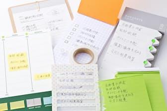 ToDoリストを書くためのメモ帳が多様化している