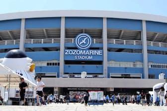 ZOZOはプロ野球界への参入に強い意欲を持っている(ネーミングライツを取得した千葉市のZOZOマリンスタジアム)