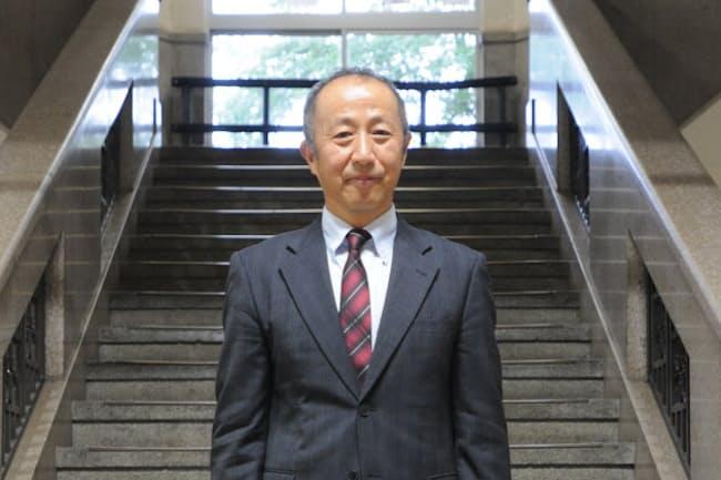東京学芸大付属高校の大野弘校長