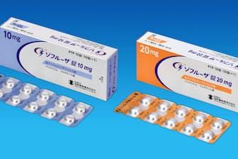 塩野義製薬が3月に発売したゾフルーザ錠