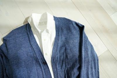 重ね着する衣類の素材の組み合わせが、汚れやすさや着心地を左右する