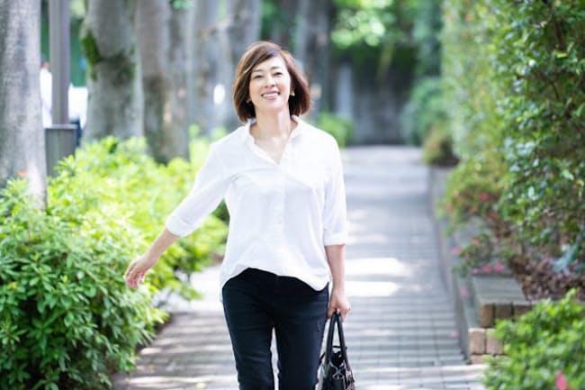 40代で自分磨きを始めた小西美穂さん