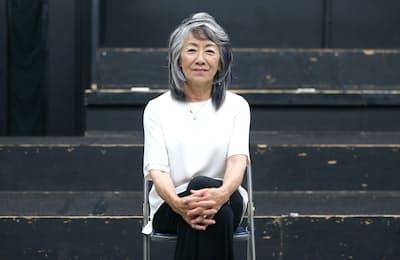 キャスティングディレクターの奈良橋陽子氏(東京・神楽坂のアップスアカデミーで)