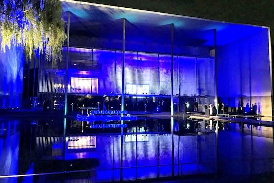 スイスの高級時計ブランド「ブレゲ」が12日、東京国立博物館の法隆寺宝物館で新生マリーン コレクションの日本上陸を祝うイベント「Breguet La Marine」を開いた