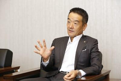 東急電鉄の高橋和夫社長