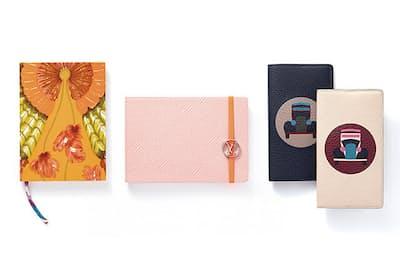 鮮やかなプリントのシルクカバーが美しいエルメスや、アイコニックなエピ・レザーが用いられたルイ・ヴィトンなど、上質で特別感に満ちたノートブックをご紹介。(NikkeiLUXEより)