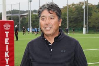 帝京大学ラグビー部の岩出雅之監督