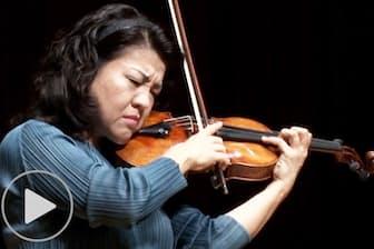 バイオリニスト竹澤恭子 デビュー30年のバルトーク
