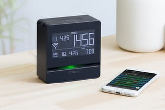 キングジム、スマートプログラムアラーム「Link Time」(希望小売価格1万3200円)