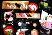 「水上レストラン Suship」の「おまかせ」コース