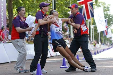 選手・観客を守る医療スタッフの役割は重い(写真は2012年8月のロンドン五輪)=ロイター