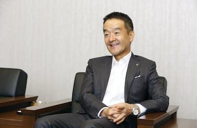 東京急行電鉄の高橋和夫社長