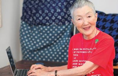 「世界最高齢プログラマー」の若宮正子さん