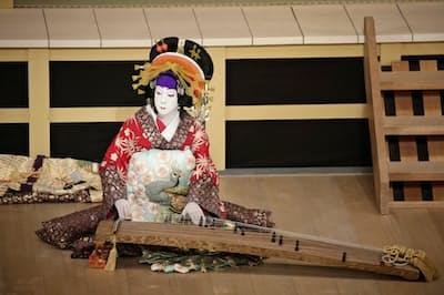 玉三郎の阿古屋(2015年10月、歌舞伎座)=岡本 隆史撮影