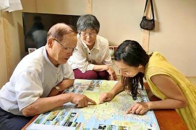 パソナが昨年支援した阿波おどりでは、徳島市で40部屋以上を確保した
