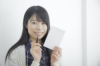 名刺のデータに基づき、紙の年賀状を相手に郵送することができる