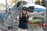 フリーアナウンサーの貞平麻衣子さんが飛行機の不思議に迫ります